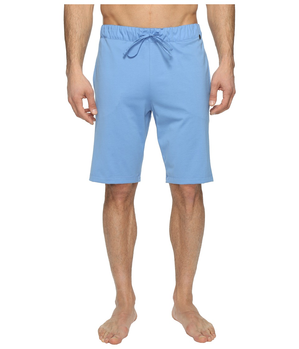 Hanro - Night Day Short Pants (Middle Blue) Men's Pajama