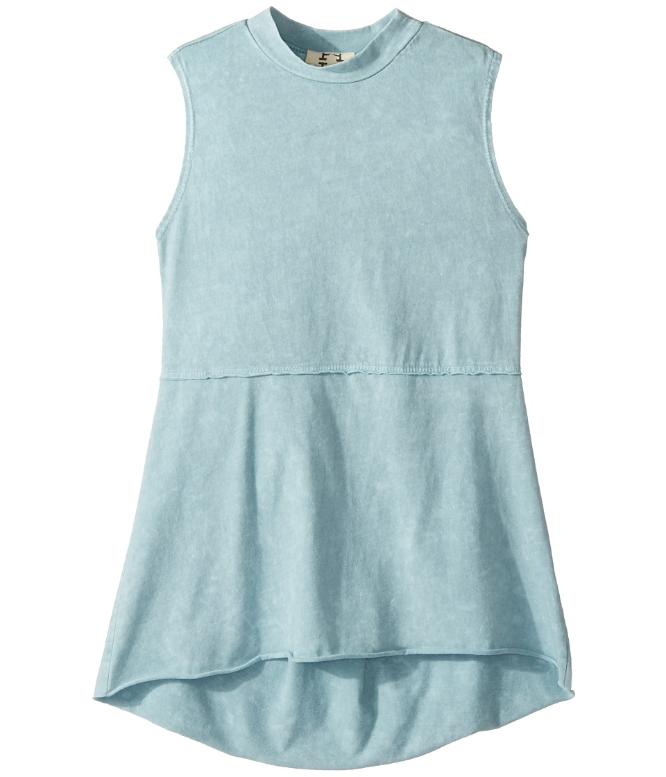 People's Project LA Kids - Kaley Tank Top (Big Kids) (Light Blue Wash) Girl's T Shirt