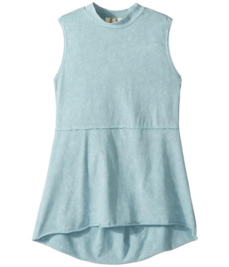 People's Project LA Kids - Kaley Tank Top (Big Kids) (Light Blue Wash) Girl's T Shirt