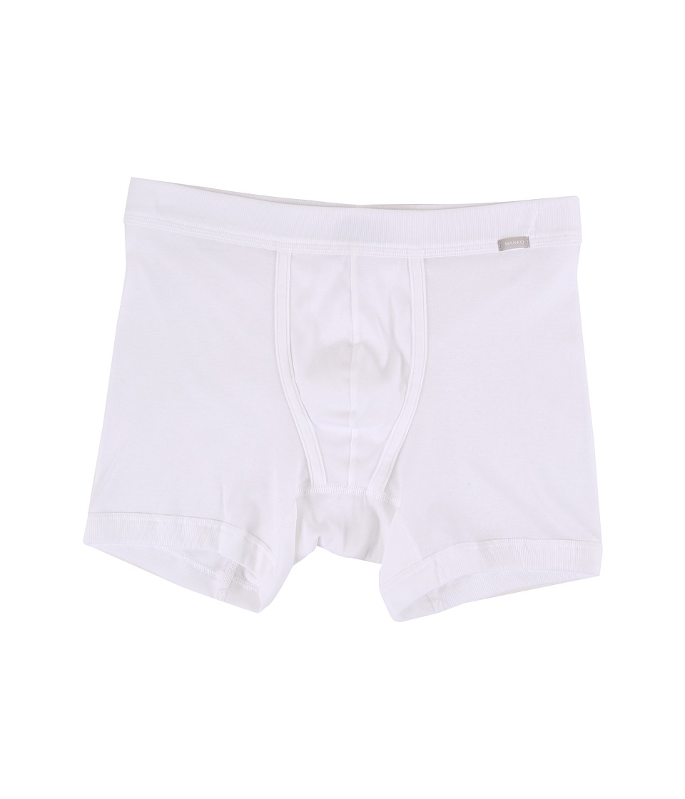Hanro - Eric Long Boxer Brief (White) Men's Underwear