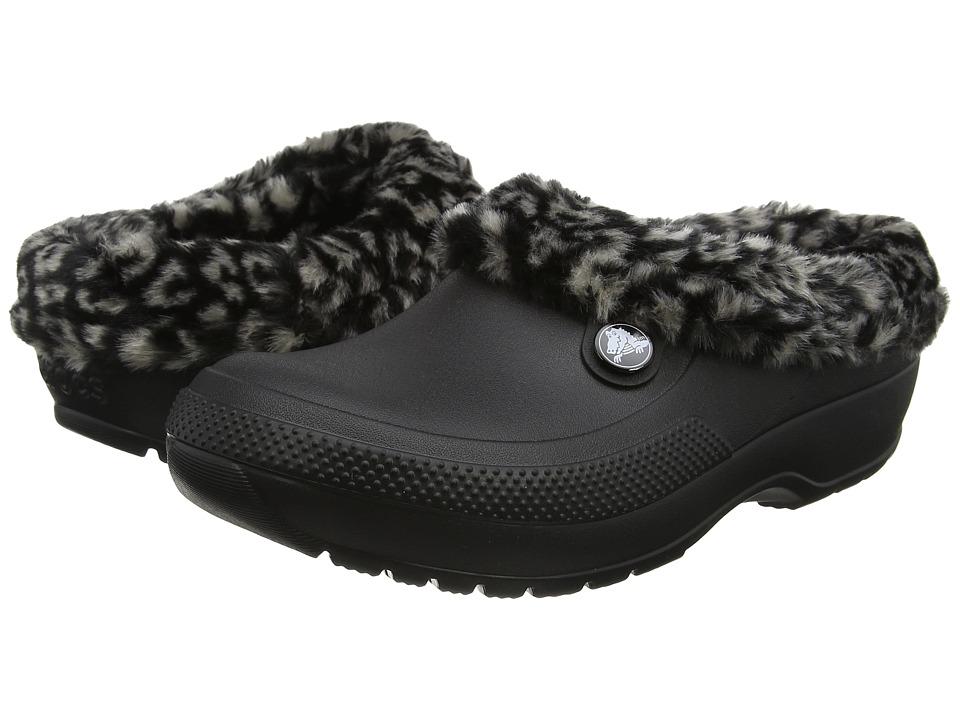 Crocs Classic Blitzen III Animal (Black/Tumbleweed) Clog/Mule Shoes