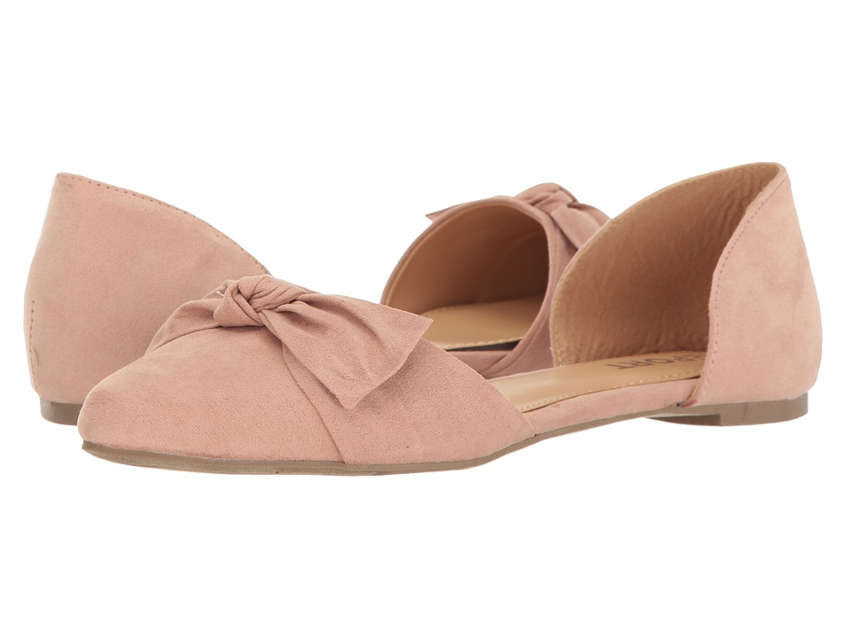 Report - Briella (Pink) Women's Flat Shoes