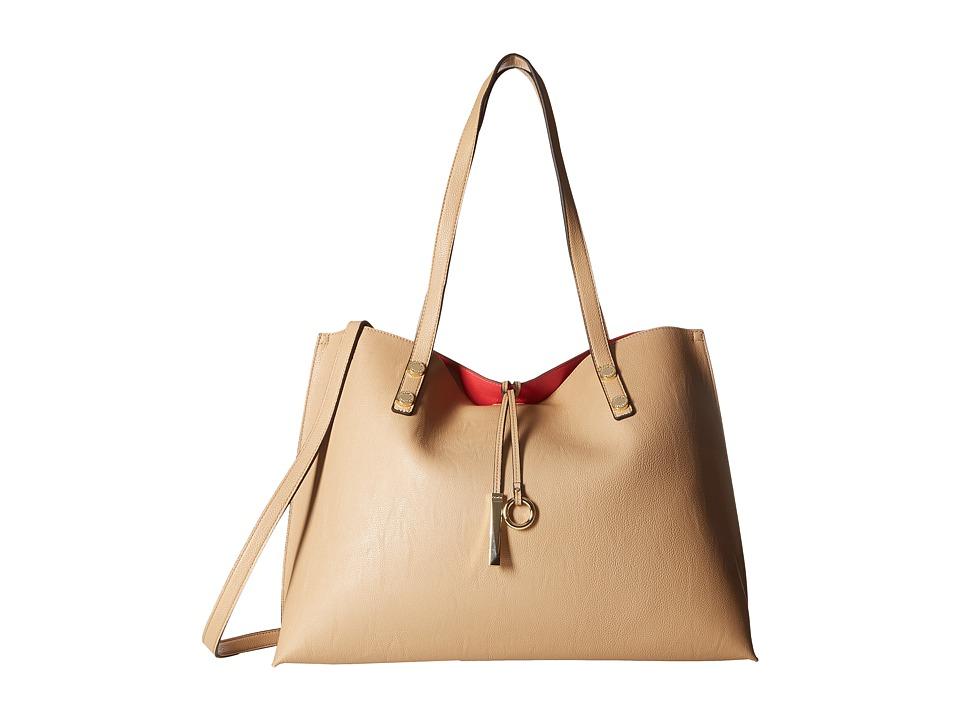 Calvin Klein - Reversible Tote (Nude/Watermelon) Tote Handbags