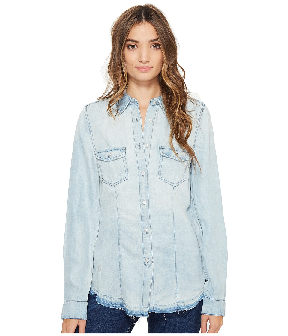 Blank NYC - Denim Shirt in Rehab Run (Rehab Run) Women's Clothing