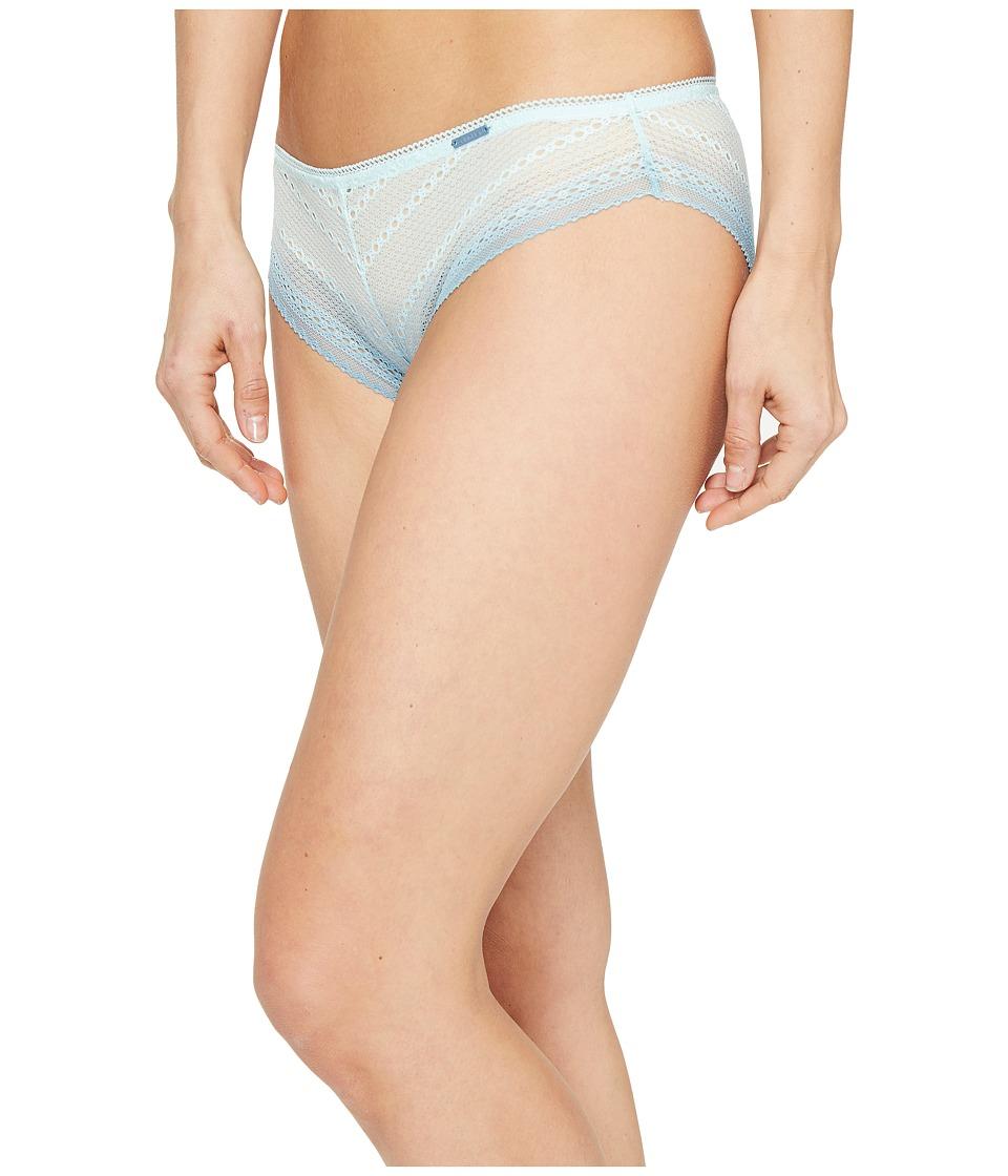 Calvin Klein Underwear - Ombre Bikini (Salt Lake Blue Steel) Women's Underwear