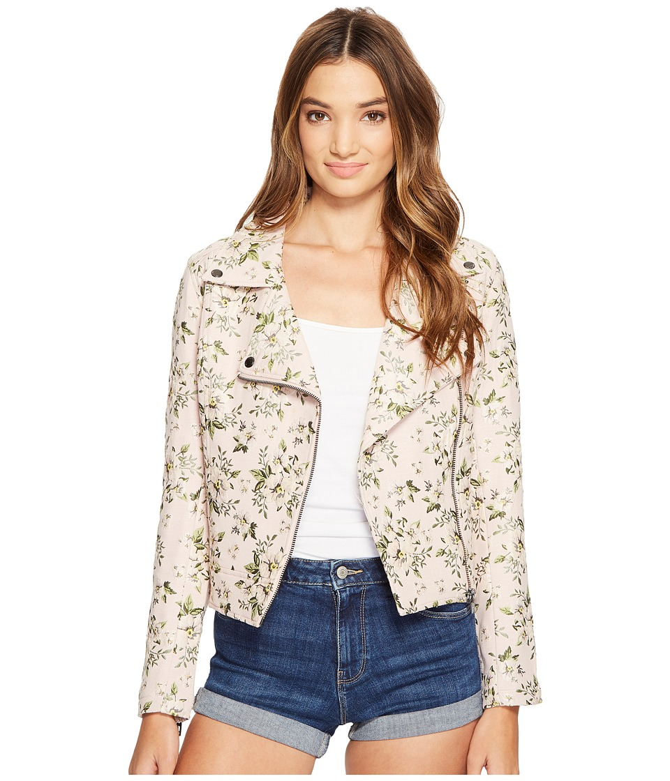 Blank NYC - Floral Detailed Jacket in Stem To Stem (Stem To Stem) Women's Coat