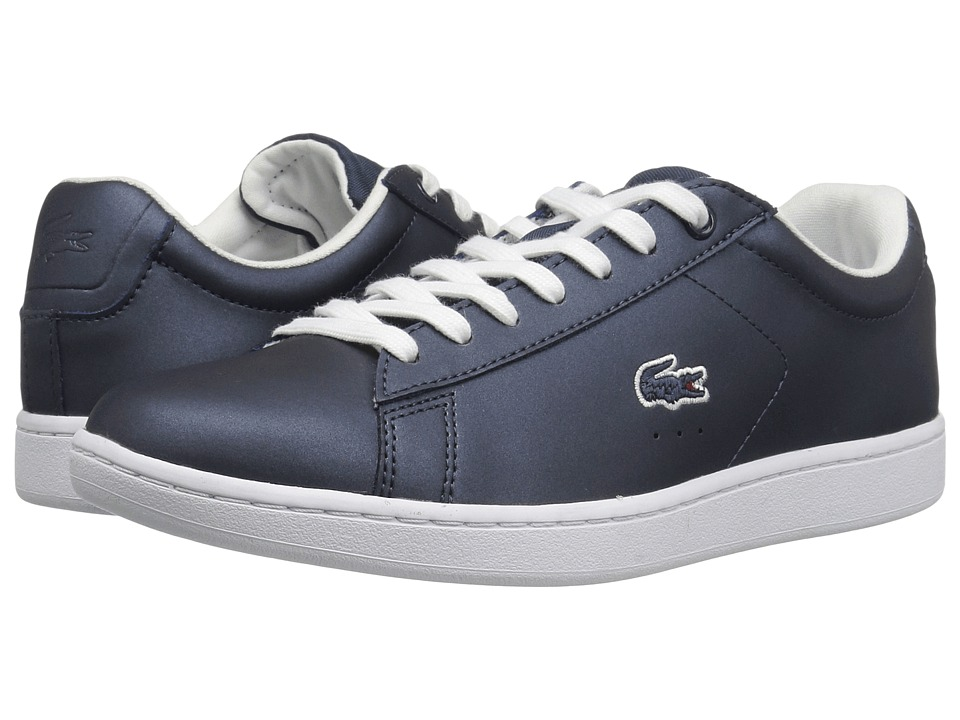Lacoste - Carnaby Evo 117 3 (Navy) Women's Shoes
