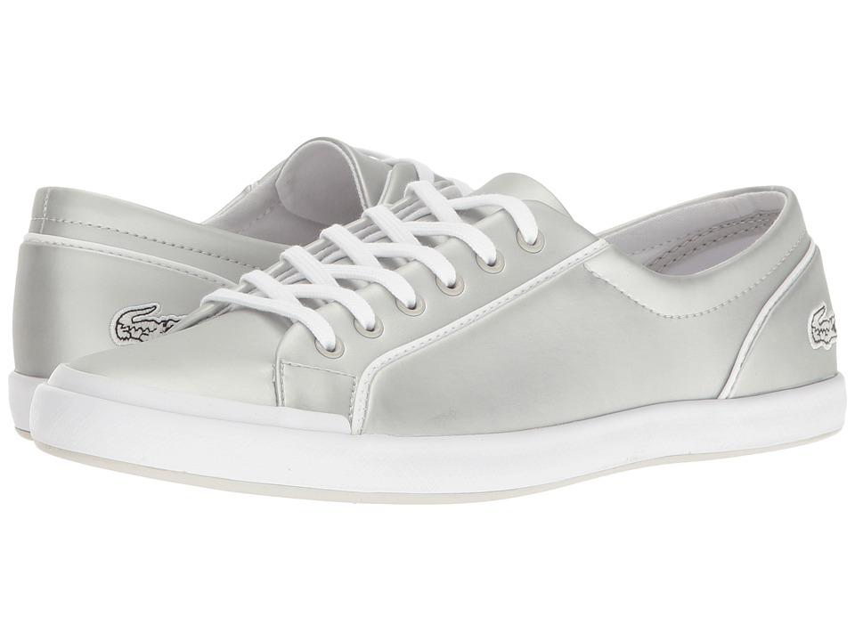Lacoste Lancelle 6 Eye 117 2 (Light Grey) Women
