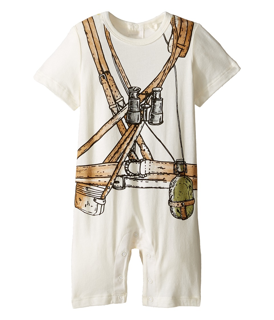 Stella McCartney Kids - Kit Explorer All-In-One (Infant) (Cream) Boy's Jumpsuit & Rompers One Piece