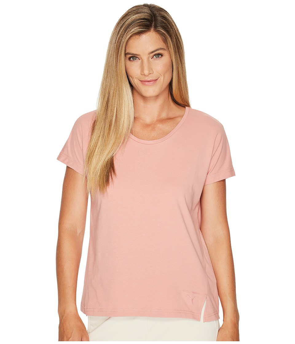 PUMA - Lux Fashion Tee (Cameo Brown) Women's T Shirt