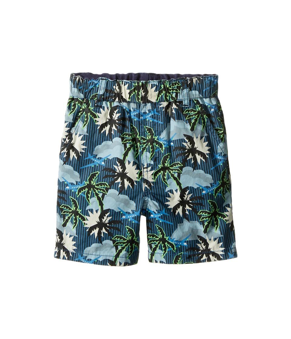 Stella McCartney Kids - Lucas Hawaiin Print Shorts (Infant) (Blue) Boy's Shorts