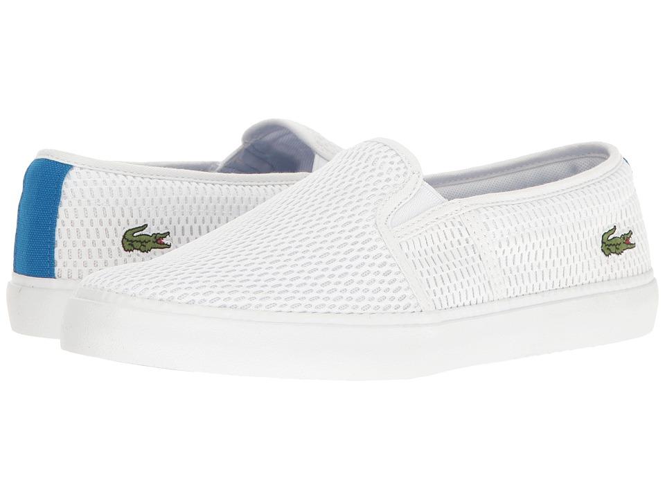 Lacoste - Gazon 217 1 (White) Women's Shoes
