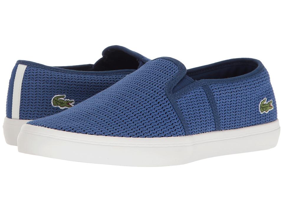 Lacoste - Gazon 217 2 (Blue) Women's Shoes