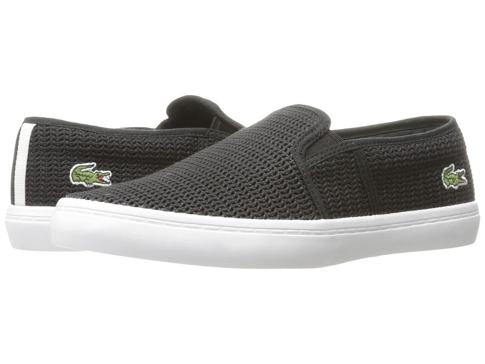 Lacoste - Gazon 217 2 (Black) Women's Shoes