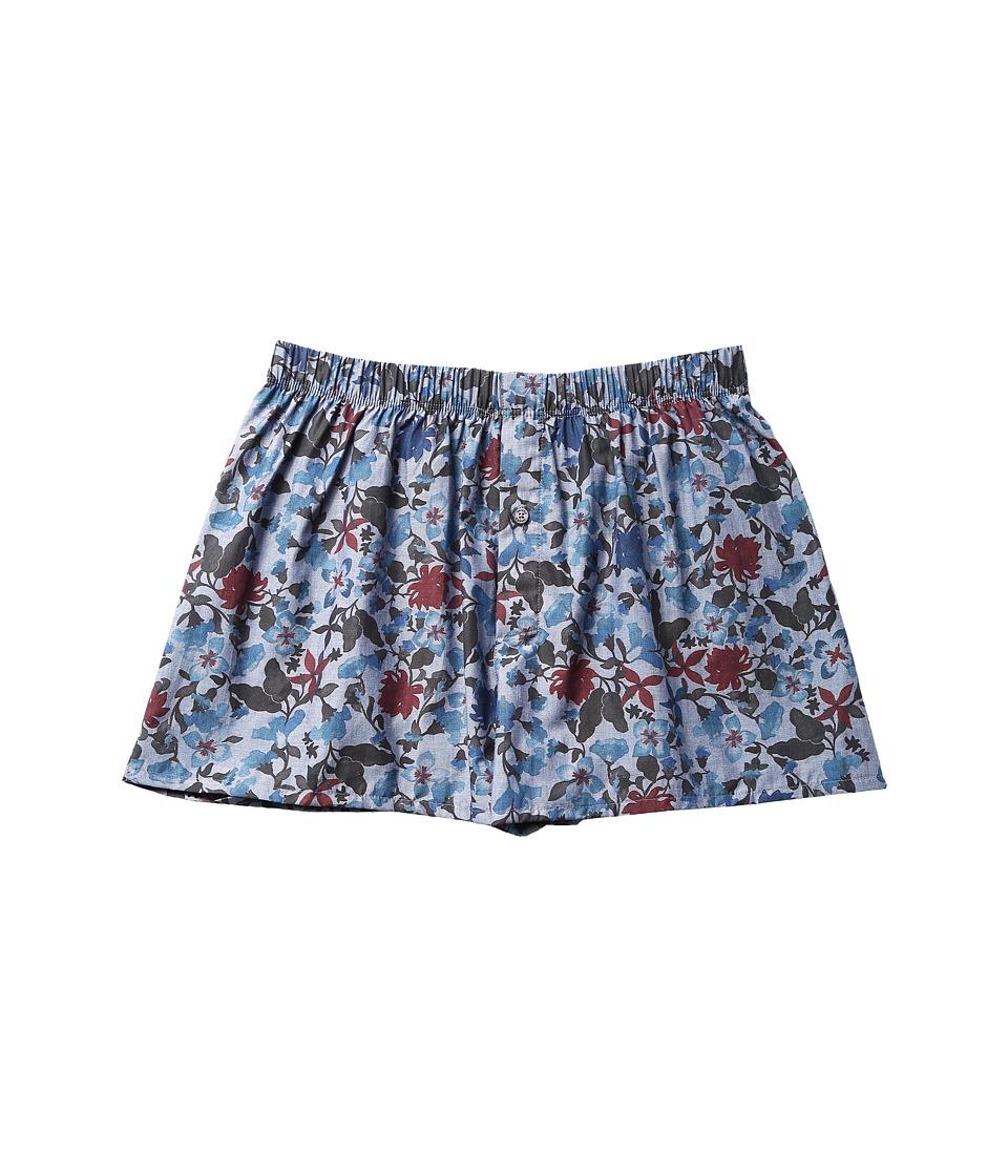 Hanro - Fancy Woven Boxer (Flower Aquarell) Men's Underwear