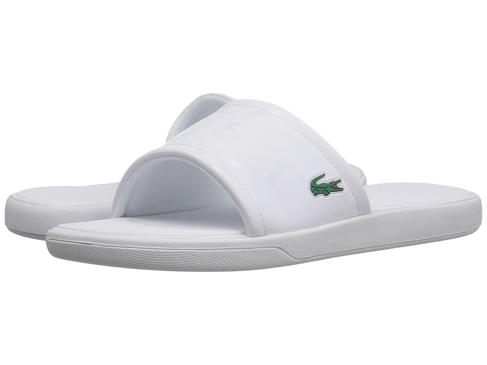 Lacoste - L.30 Slide 217 2 (White) Women's Slide Shoes