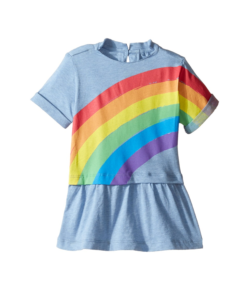 Stella McCartney Kids - Jess Rainbow Dress (Infant) (Blue) Girl's Dress