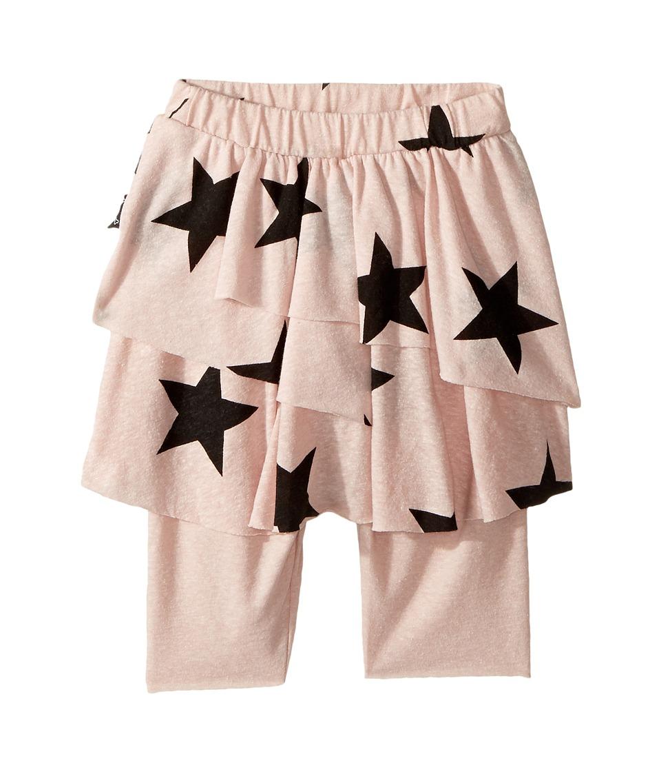 Nununu - Star Leggings Skirt (Infant/Toddler/Little Kids) (Powder Pink) Girl's Skort
