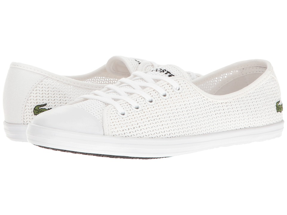 Lacoste - ZIANE 217 1 (White) Women's Shoes