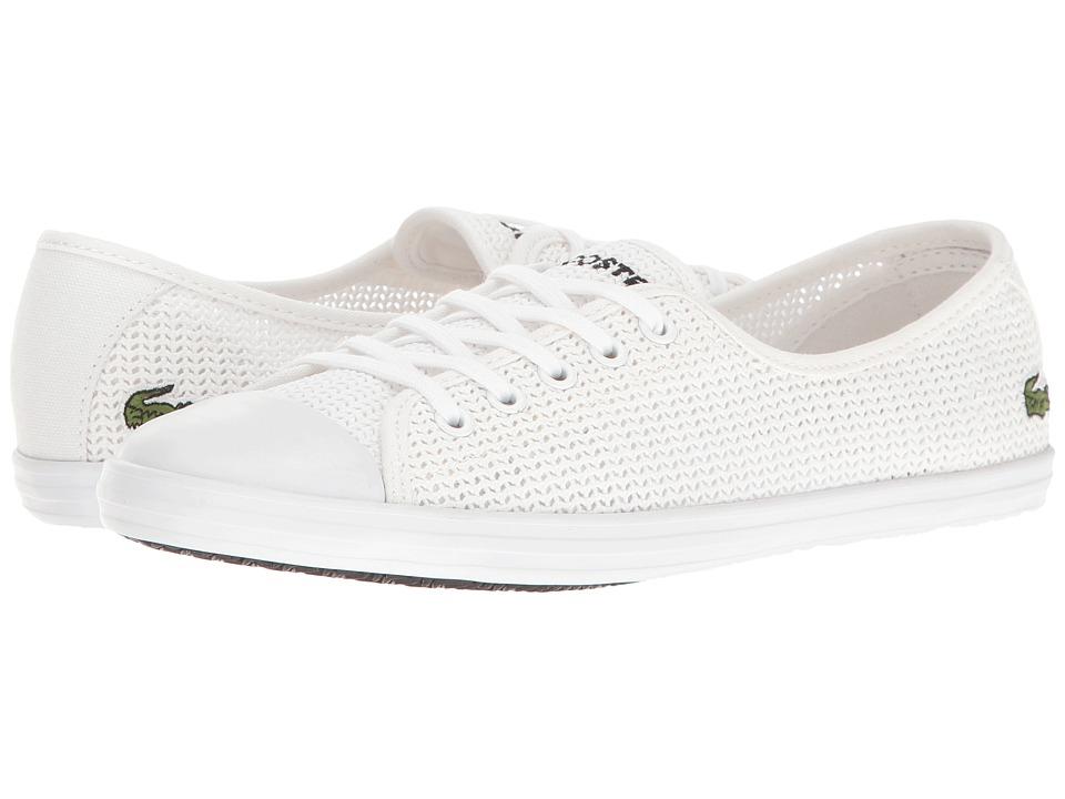 Lacoste - ZIANE 217 1 (White) Women's Shoes