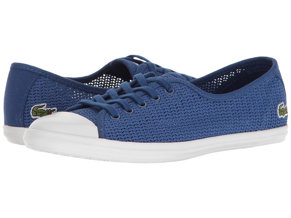 Lacoste - ZIANE 217 1 (Blue) Women's Shoes