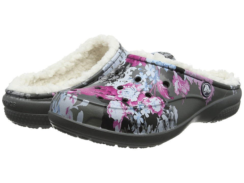 Crocs Freesail Graphic Lined (Floral/Slate Grey) Women