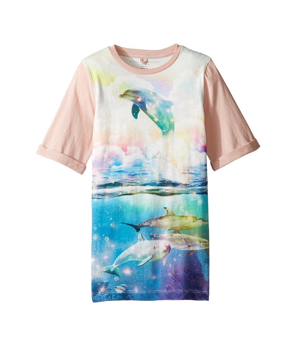 Stella McCartney Kids - Hepsie Dolphin Jersey Dress (Toddler/Little Kids/Big Kids) (Multi) Girl's Dress
