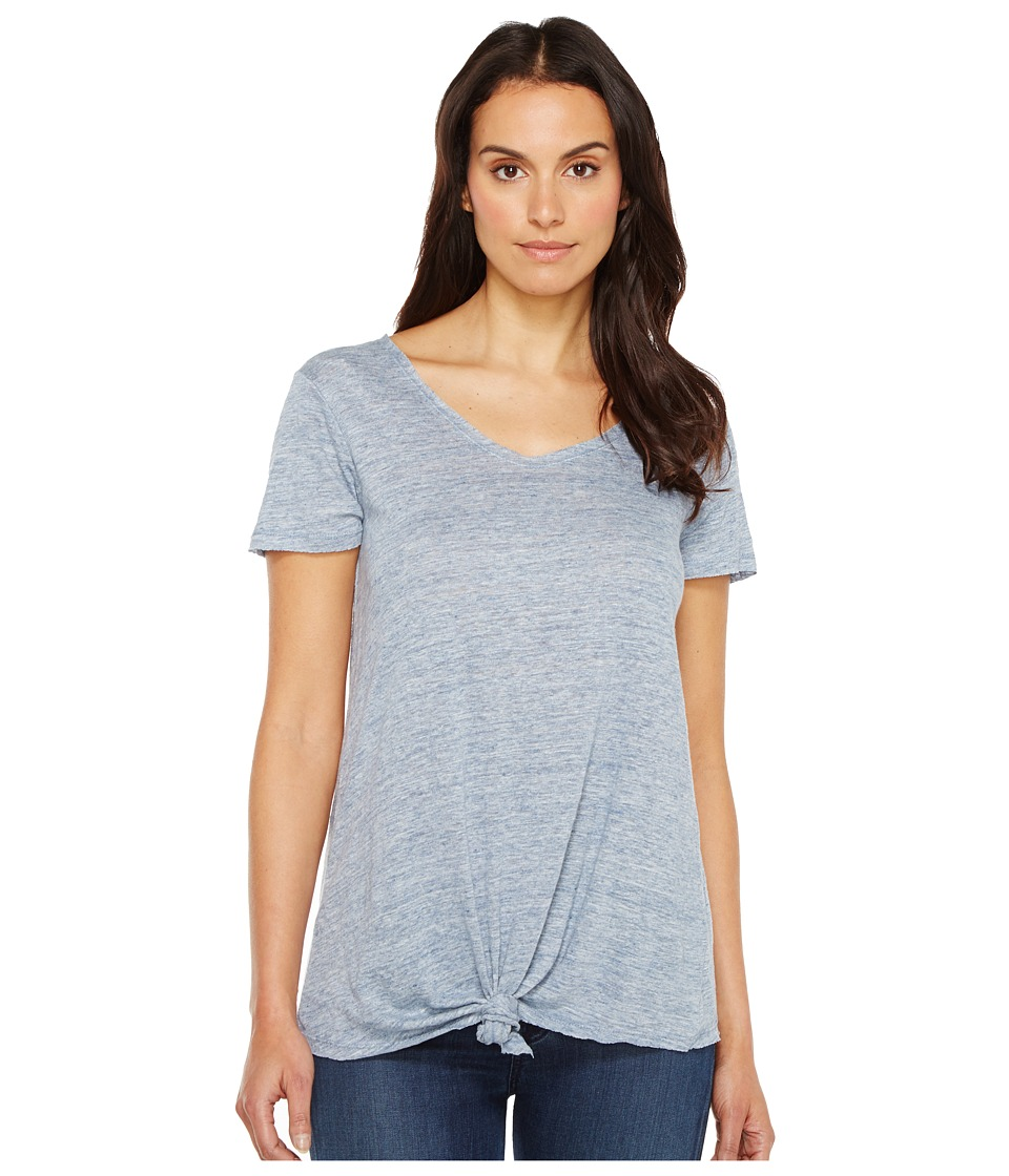 Blank NYC - Tee Shirt with Knot Detail in Believe It or Not (Believe It or Not) Women's T Shirt