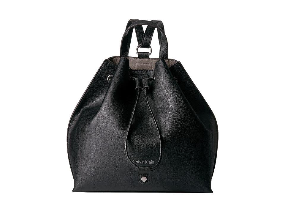 Calvin Klein - Jetlink Backpack (Black/Gray) Backpack Bags