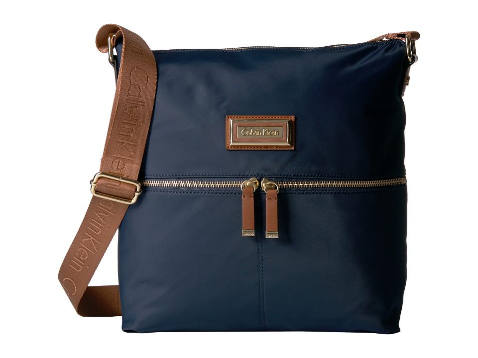 Calvin Klein - Nylon Messenger (Navy) Messenger Bags