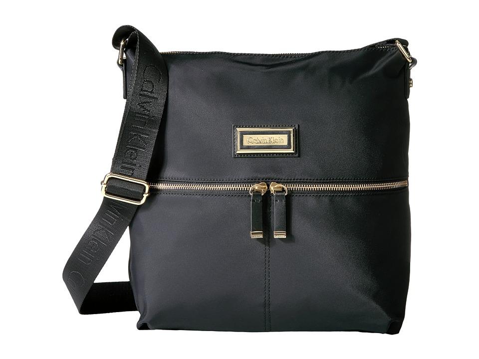 Calvin Klein - Nylon Messenger (Black) Messenger Bags