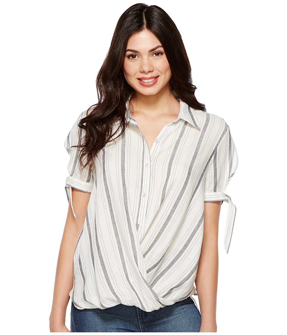 Blank NYC - Striped Detailed Shirt in Me and You (Me and You) Women's Clothing