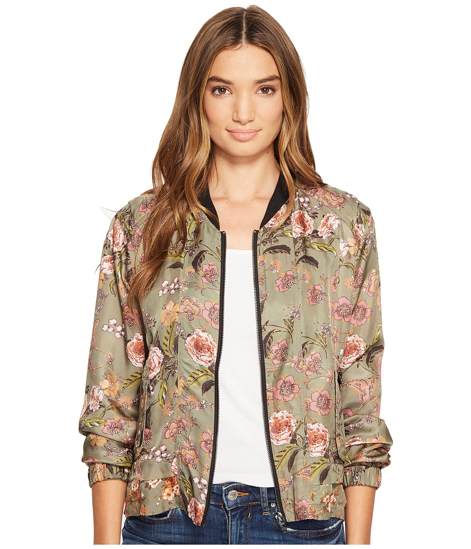 Blank NYC - Printed Bomber in Sun Chaser (Sun Chaser) Women's Coat