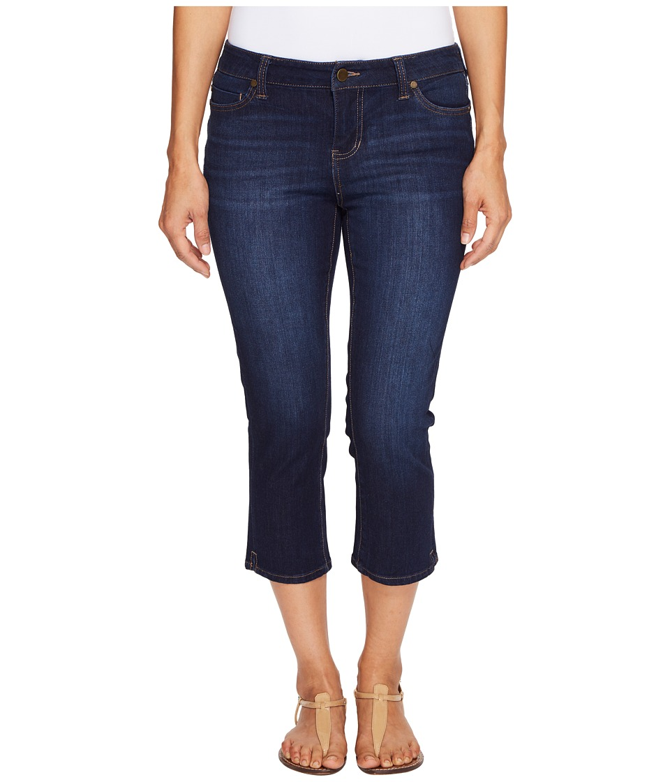 Liverpool - Petite Milly Hugger Capris with Shaping and Slimming Four-Way Stretch Denim in Corvus Dark (Corvus Dark) Women's Jeans