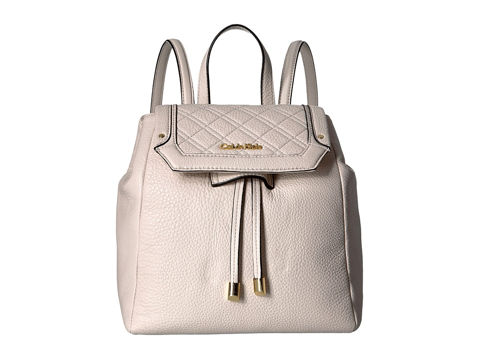 Calvin Klein - Pebble Backpack (White) Backpack Bags