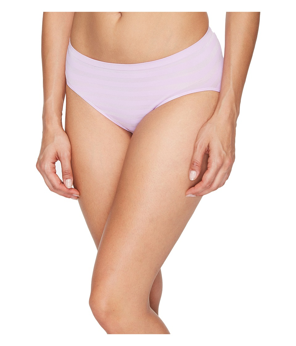 Jockey - Comfies Matte Shine Hi Cut (Old Soft Lilac) Women's Underwear
