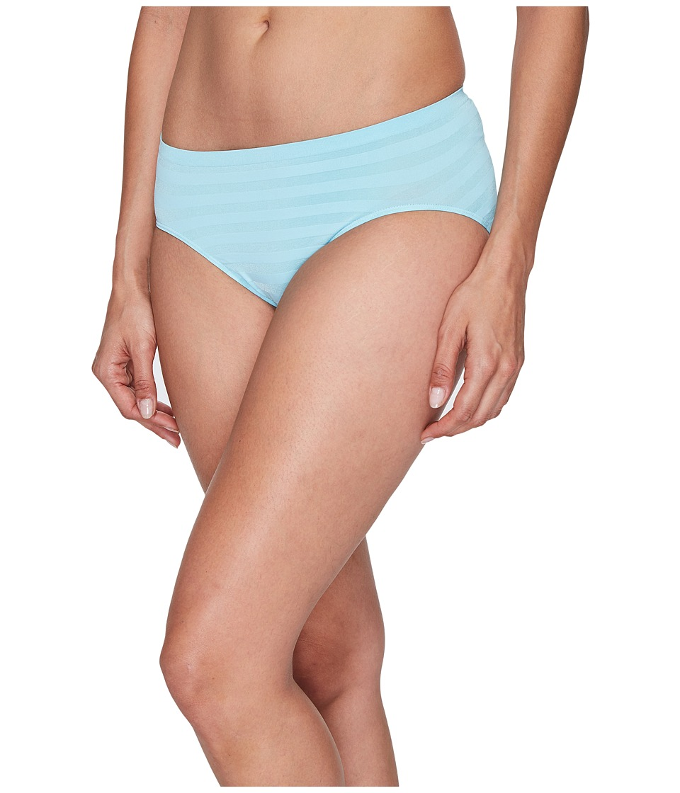 Jockey - Comfies Matte Shine Hi Cut (Mystical Pool) Women's Underwear