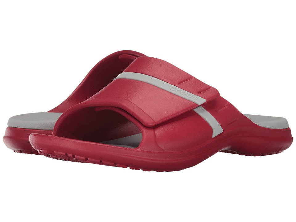 Crocs - MODI Sport Slide (Pepper/Pearl White) Slide Shoes