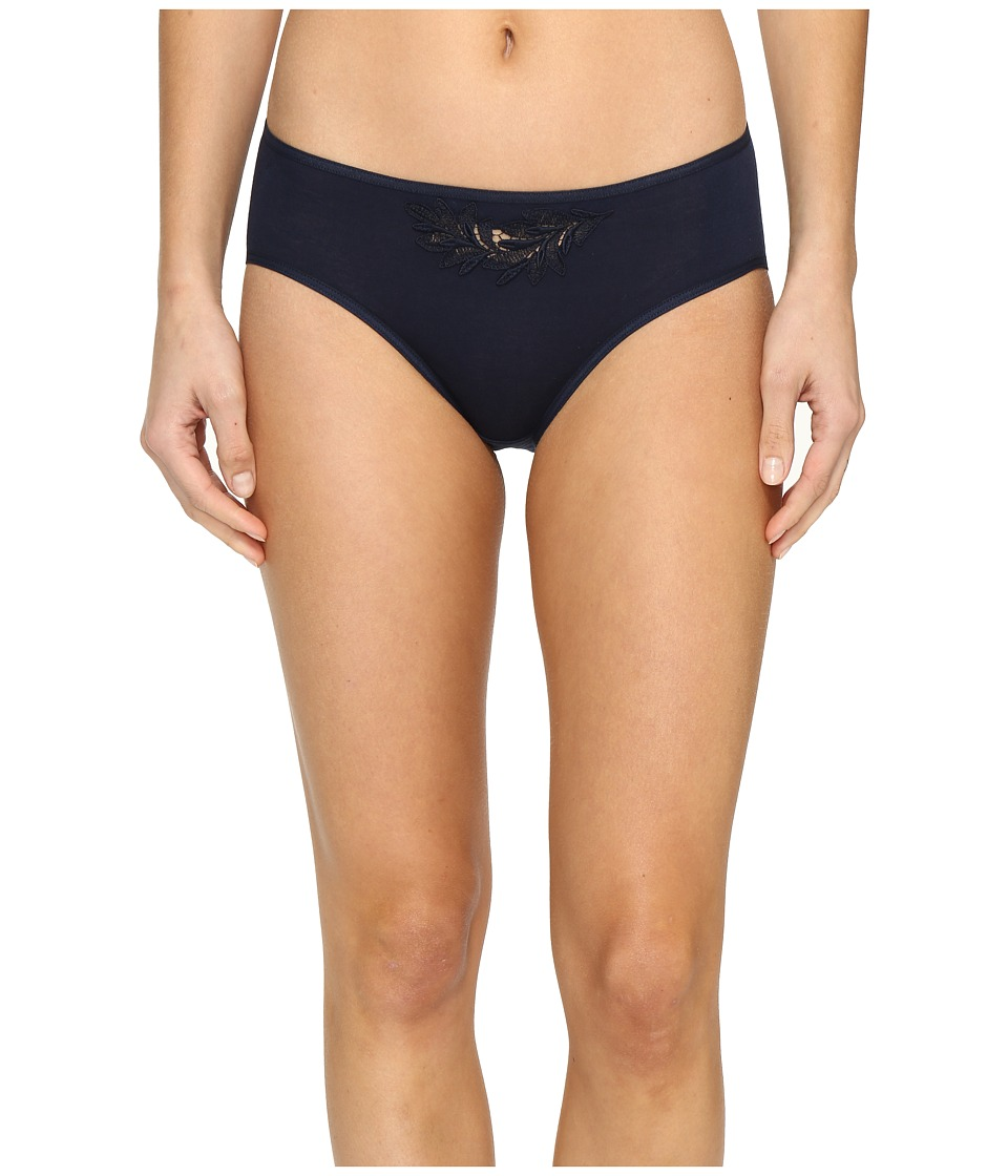 Hanro - Frida Hi-Cut Brief (Deep Midnight) Women's Underwear