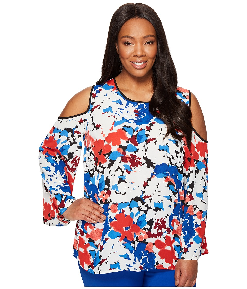 Vince Camuto Specialty Size - Plus Size Bell Sleeve Nauti...