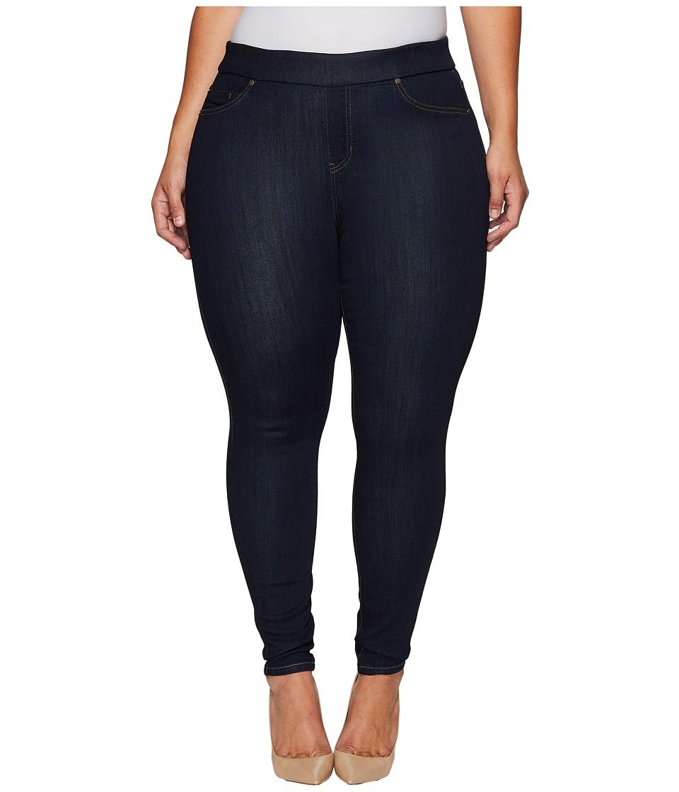 Liverpool - Plus Size Sienna Pull-On Leggings on Silky Soft Denim in Indigo Rinse (Indigo Rinse) Women's Jeans