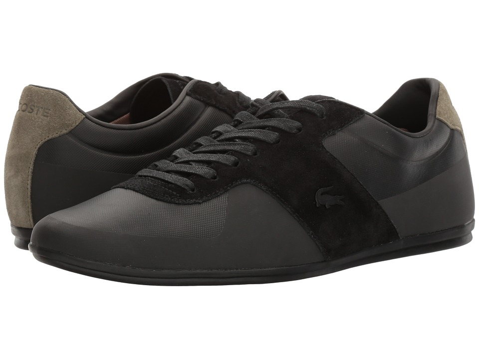 Lacoste - Turnier 117 1 (Black) Men's Shoes