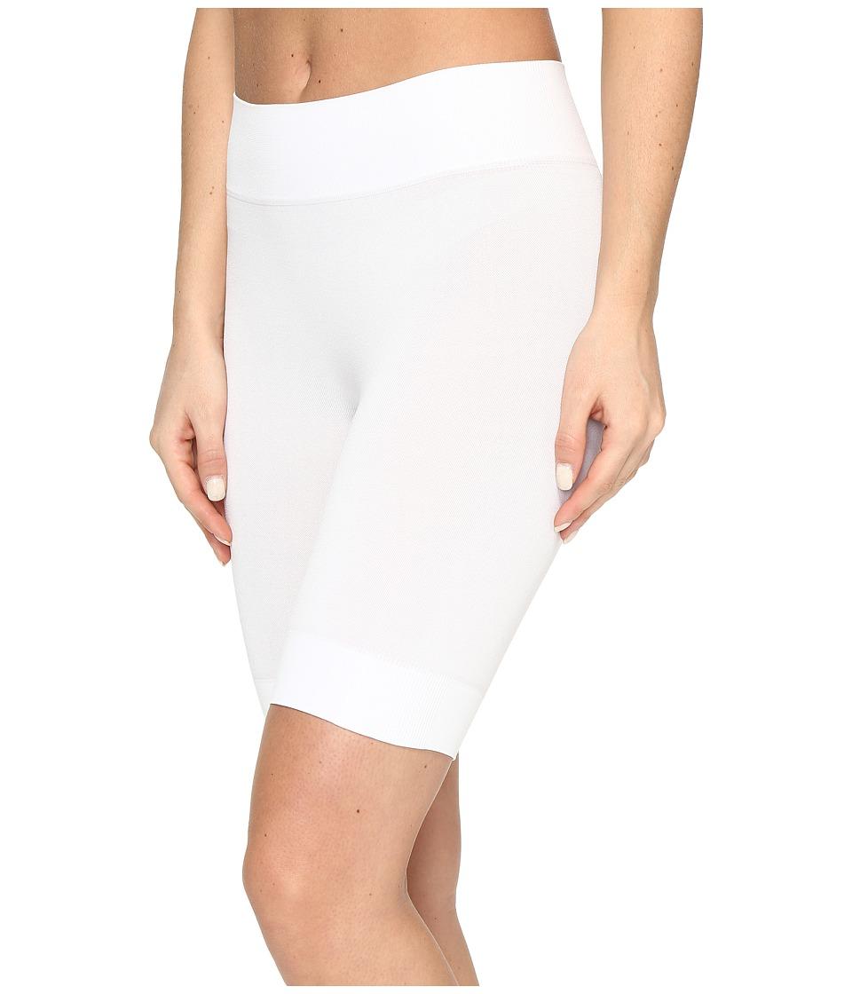Jockey - Skimmies Cotton Fusion Slipshorts (White) Women's Underwear