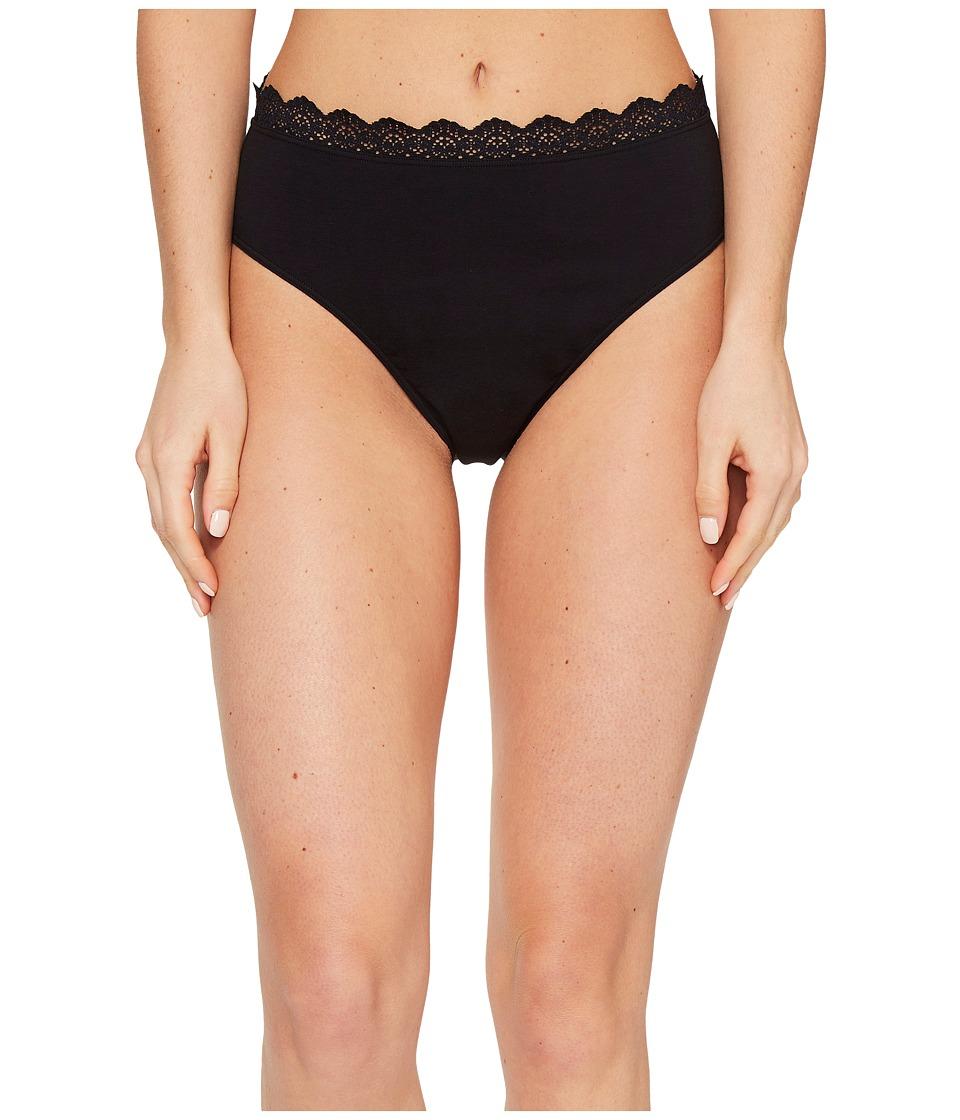 Hanro - Maja Hi-Cut Brief (Black) Women's Underwear