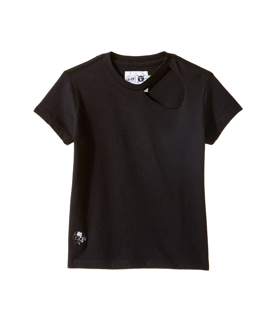 Nununu - Torn T-Shirt (Infant/Toddler/Little Kids) (Black) Kid's T Shirt