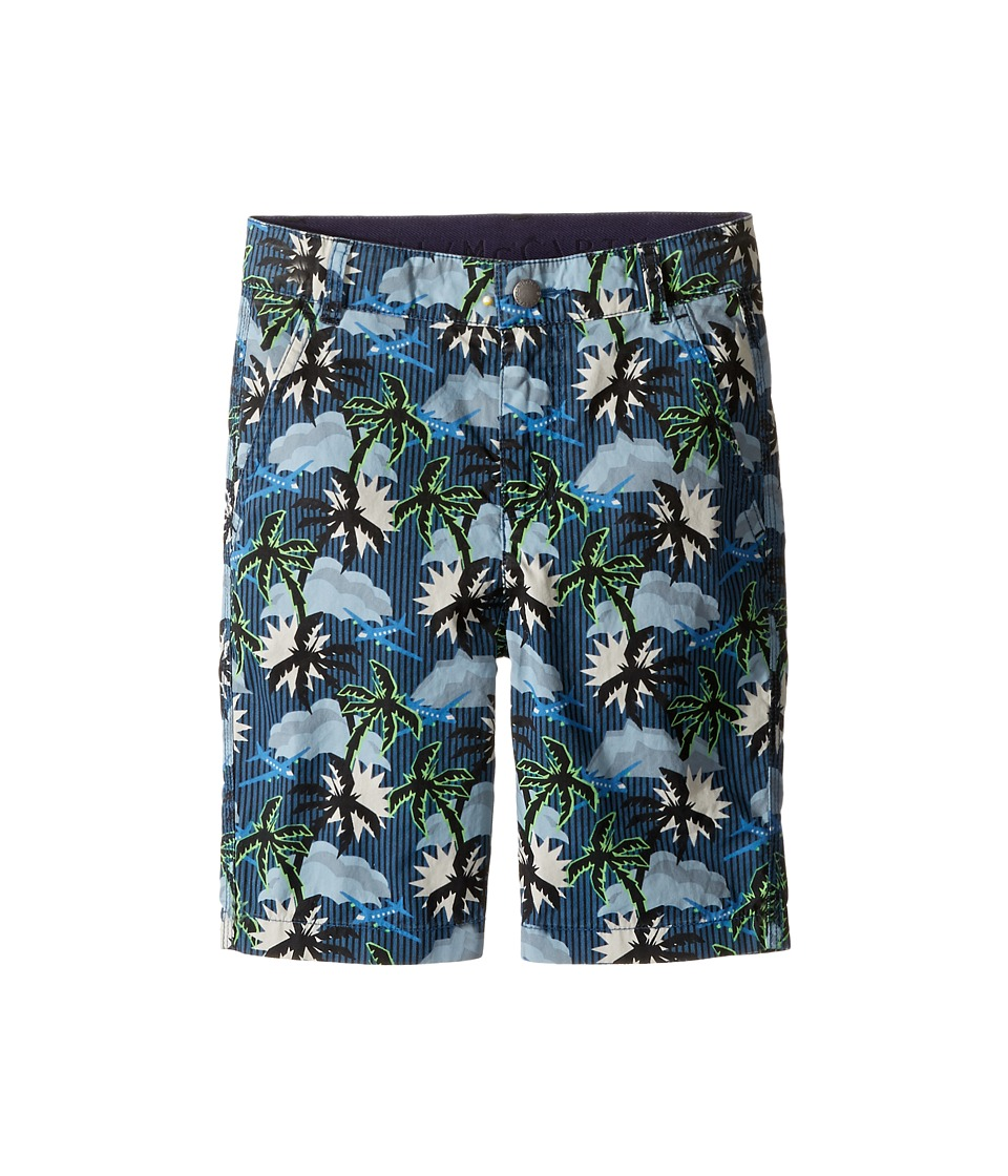 Stella McCartney Kids - Lucas Hawaiian Printed Shorts (Toddler/Little Kids/Big Kids) (Blue) Boy's Shorts