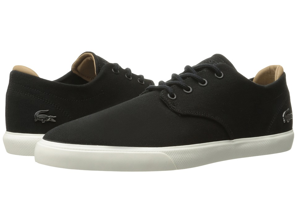 Lacoste - Espere 217 1 (Black) Men's Shoes