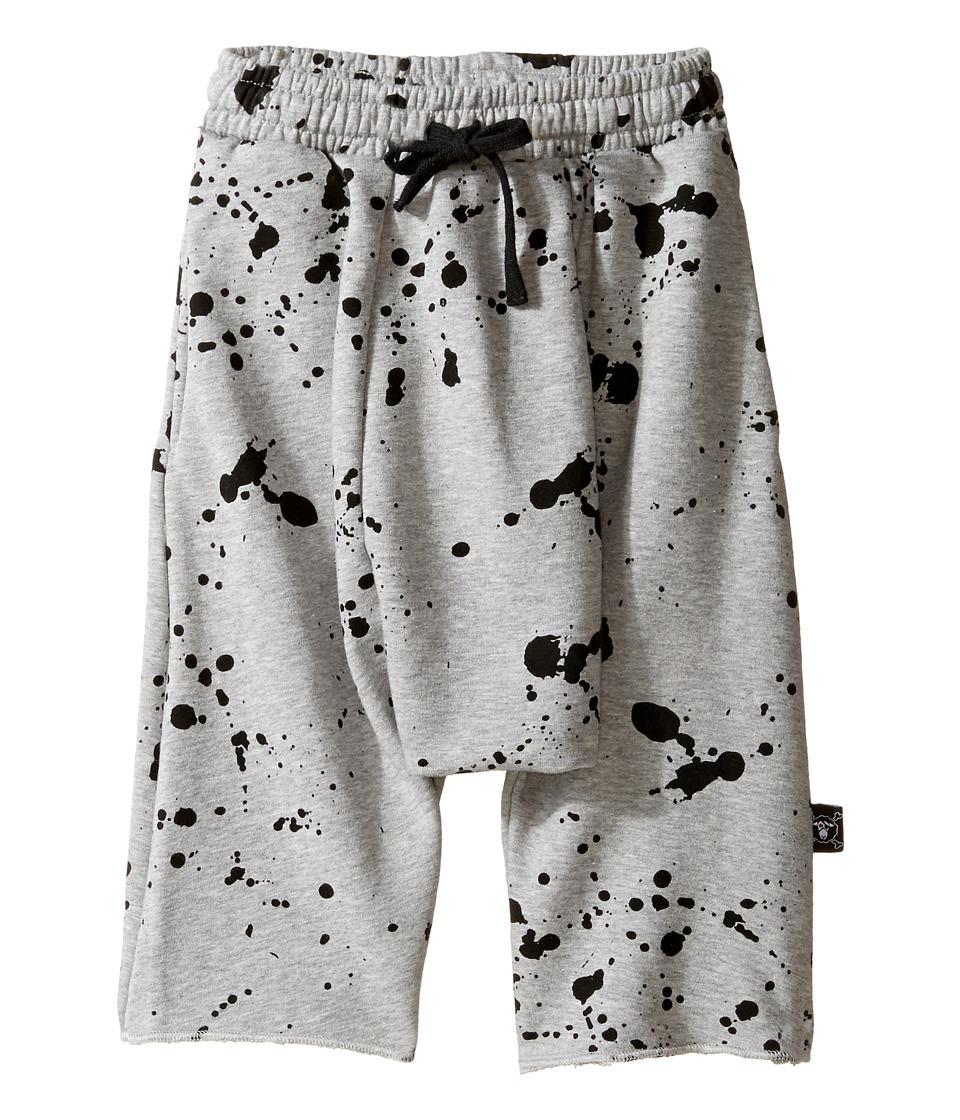 Nununu - Splash Harem Shorts (Little Kids/Big Kids) (Heather Grey) Boy's Shorts
