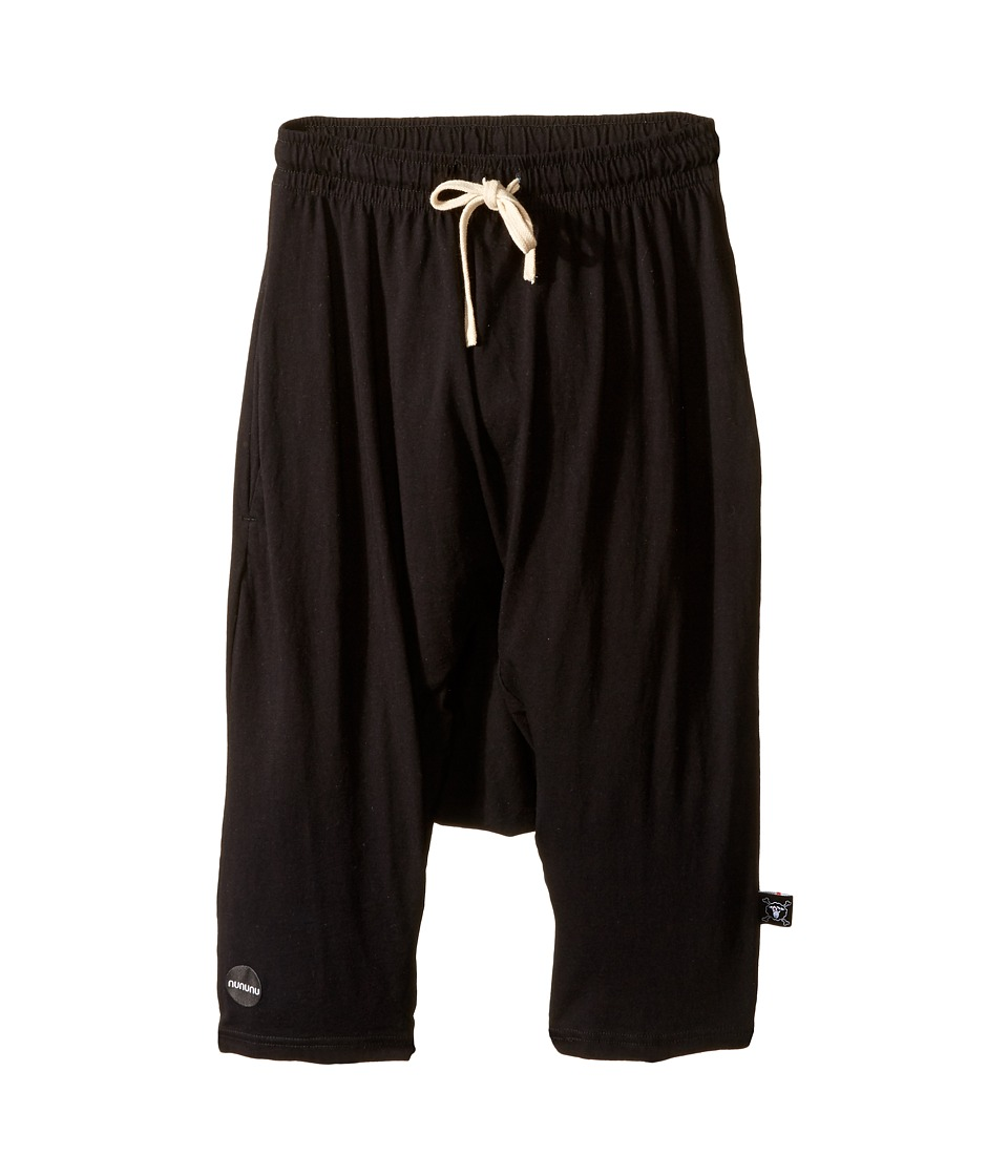 Nununu - 3/4 Pants (Little Kids/Big Kids) (Black) Boy's Casual Pants