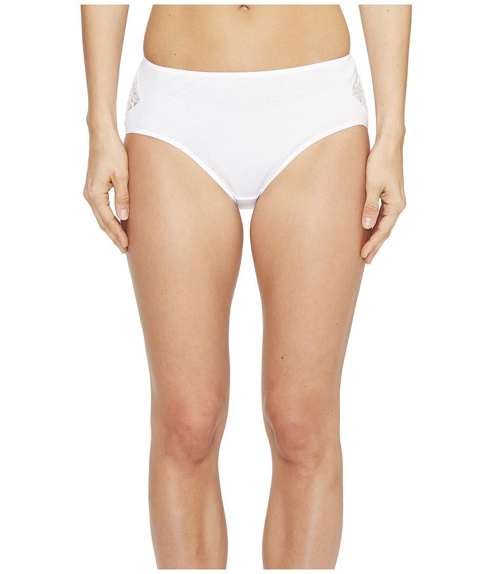 Hanro - Daphne Hi-Cut Brief (White) Women's Underwear